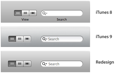 Toolbar - Right Side