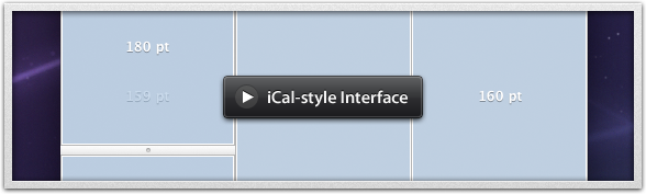 iCal-style Interface